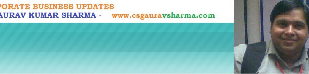 Listed Co Compliances Csgauravsharma